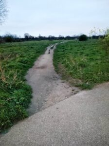 Path & Green Space at Wanstead Flats | Forest Gate | Leytonstone Personal Trainer