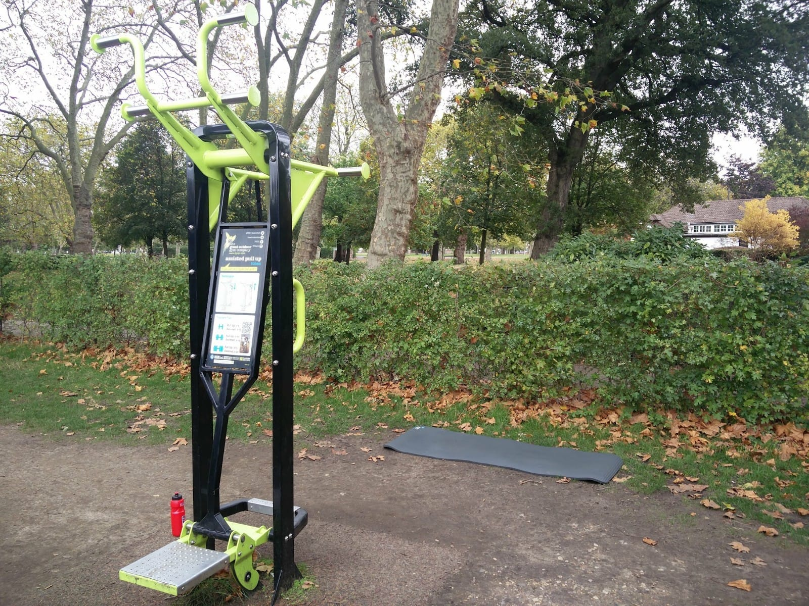 Photos of outdoor gym at West Ham Park | Stratford | Personal Trainer Tips