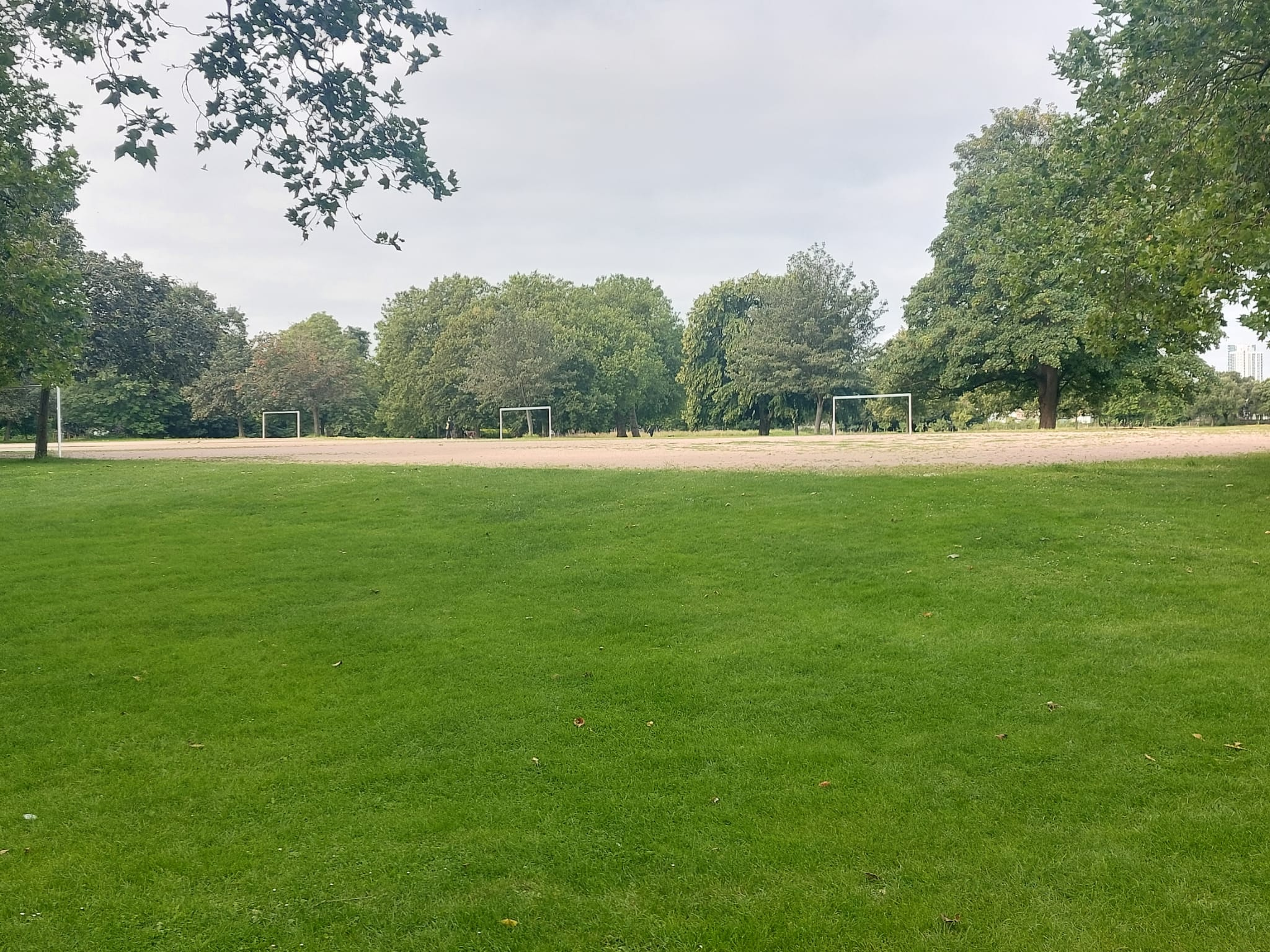 Football pitches at West Ham Park | Stratford | Personal Trainer tips