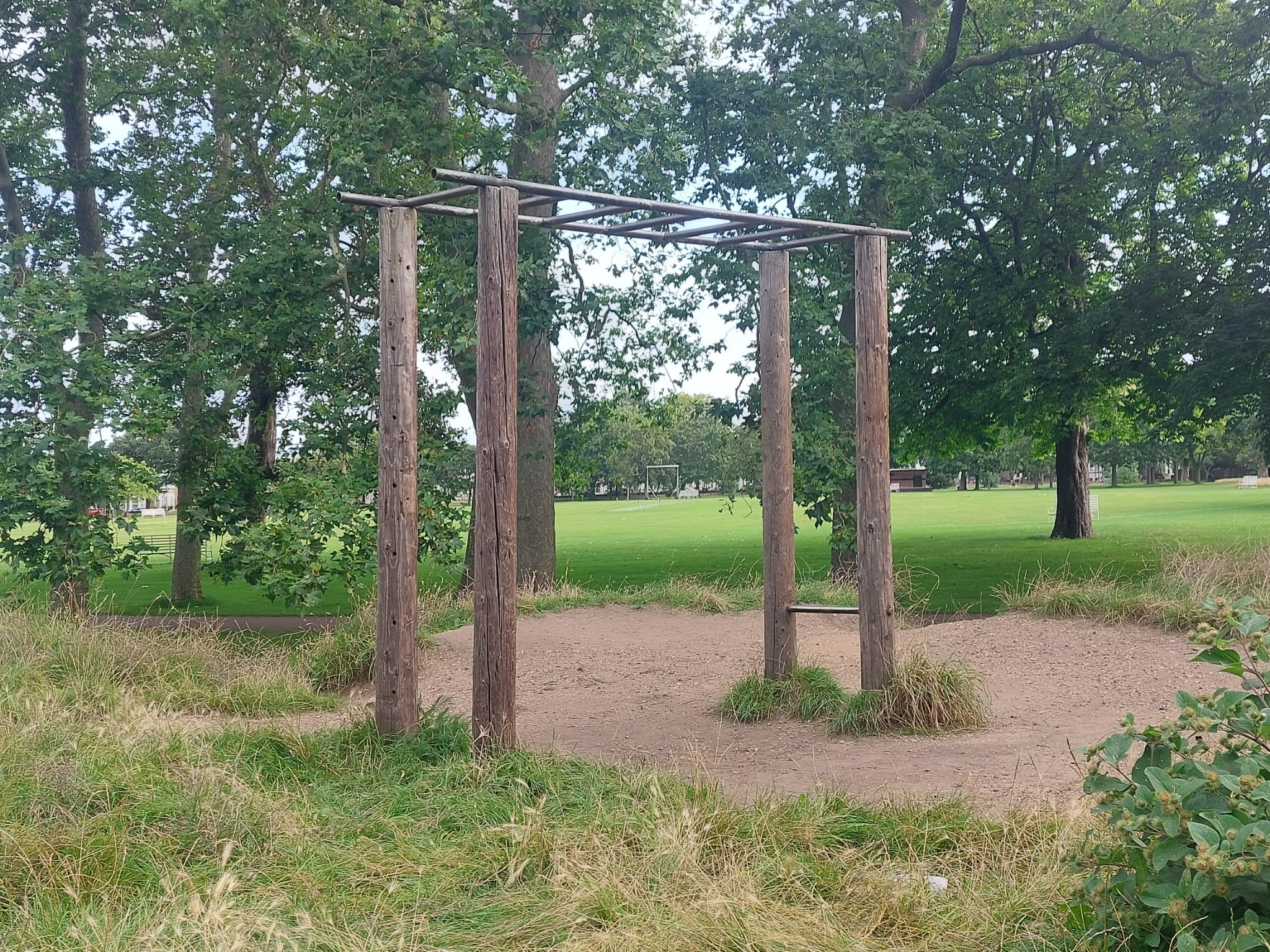 Monkey Bars at West Ham Park Stratford | Personal Trainer Tips