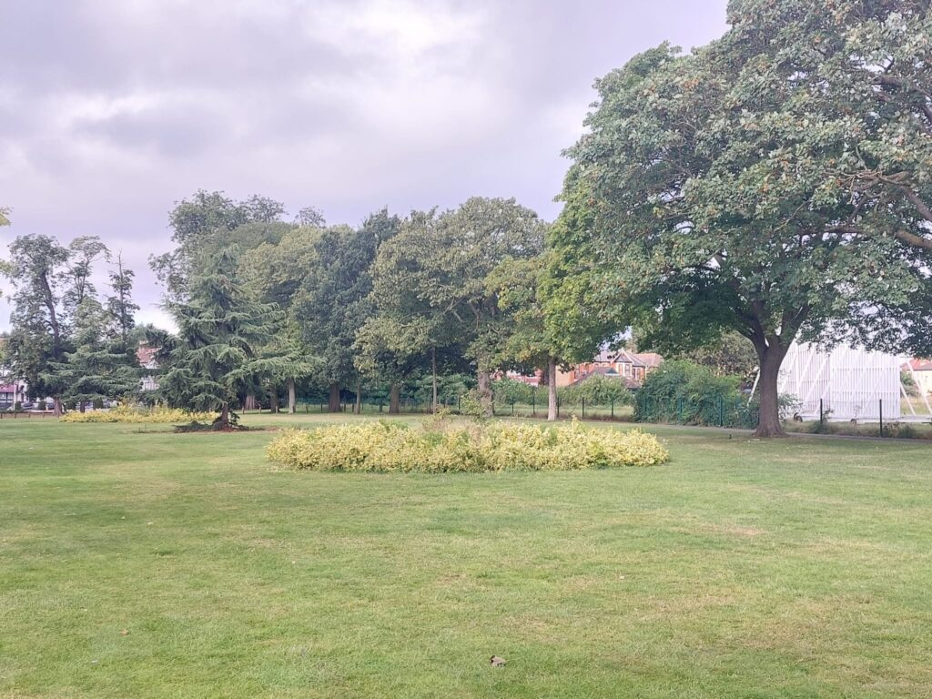 Image shows at Green space Valentine's Park | Personal Trainer Tips | DBworkouts.co.uk