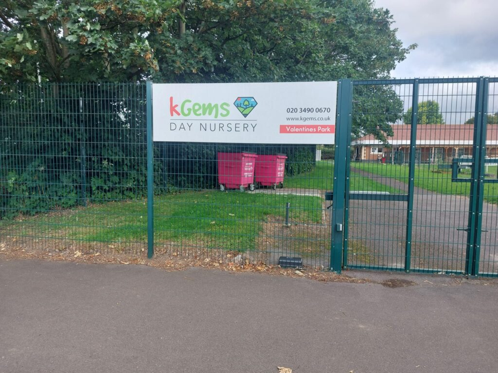 KGems Nursery at Valentine's Park | Personal Trainer Tips | DBworkouts.co.uk