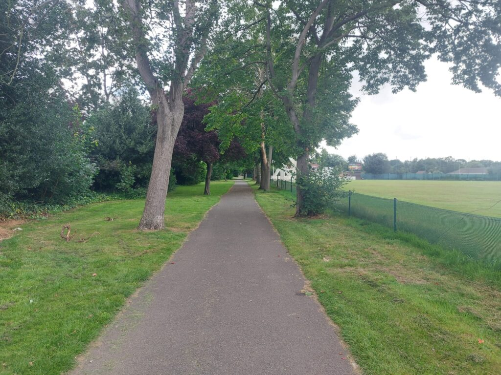 Path and Trees Valentine's Park | Personal Trainer Tips | DBworkouts.co.uk